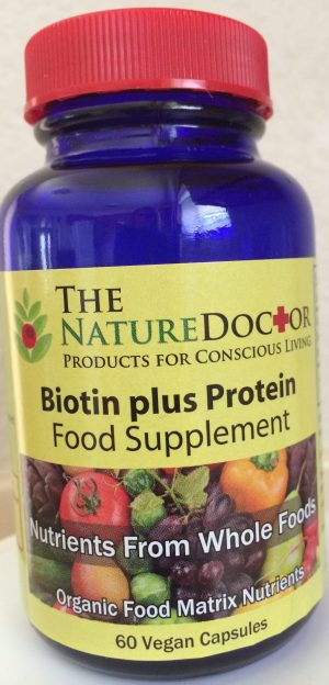 The Nature Doctor Biotin plus Protein