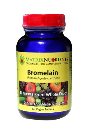 Bromelain Organic Supplement