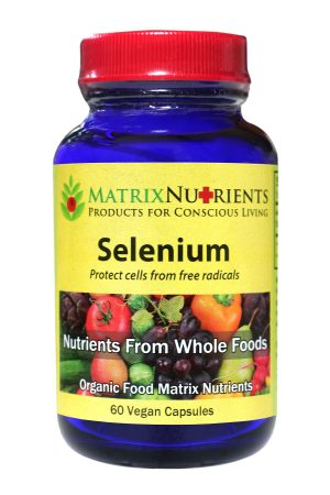 Matrix Nutrients Organic Selenium